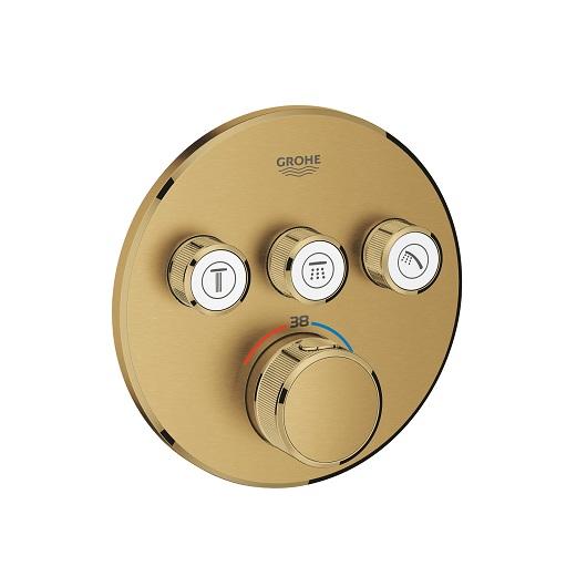 Термостат Grohe Grohtherm SmartControl 29121GN0 (холодный рассвет, матовый)