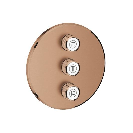 Вентиль для душа Grohe Grohtherm SmartControl 29122DL0 (теплый закат, матовый)