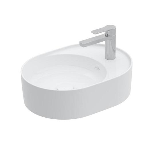 Раковина Villeroy & Boch Collaro 4A1551RW (4A15 51 RW) (510х380 мм) Stone White, CeramicPlus
