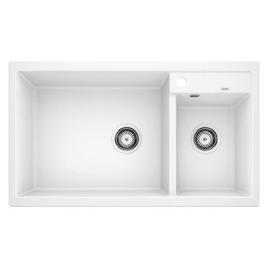 Мойка кухонная Blanco Metra 9 513269 (белый, 860х500 мм)