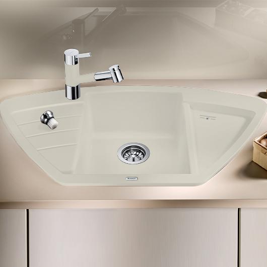 Мойка кухонная Blanco Zia 9 E 514759 (жасмин, 930х431мм)