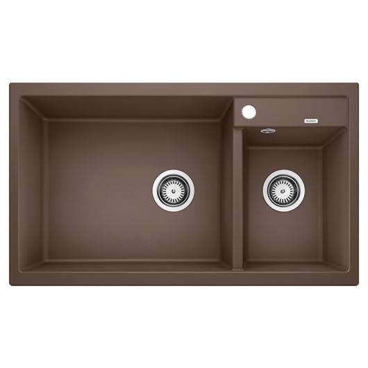 Мойка кухонная Blanco Metra 9 515050 (кофе, 860х500 мм)