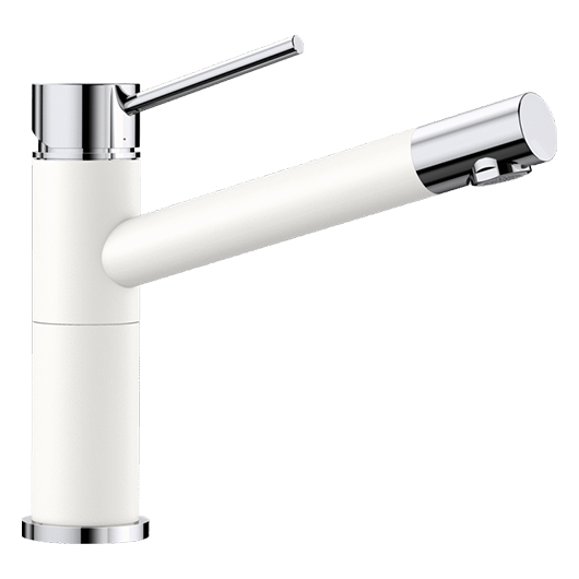 Смеситель Blanco Alta Compact 515317 (хром/белый)