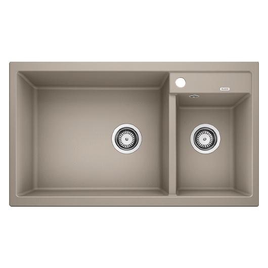 Мойка кухонная Blanco Metra 9 517364 (серый беж, 860х500 мм)