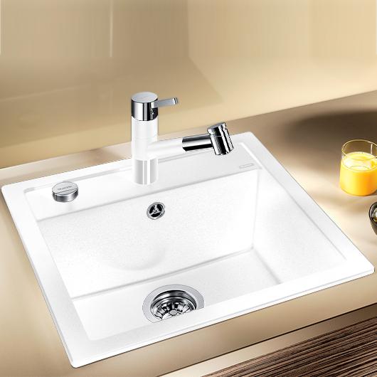 Мойка кухонная Blanco Dalago 5 518524 (белый, 515х510 мм)