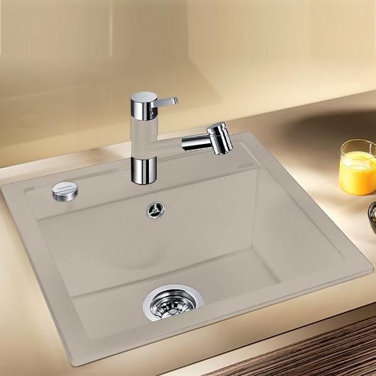 Мойка кухонная Blanco Dalago 5 518528 (серый беж, 515х510 мм)