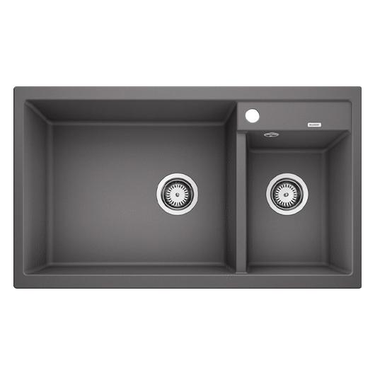 Мойка кухонная Blanco Metra 9 518886 (темная скала, 860х500 мм)