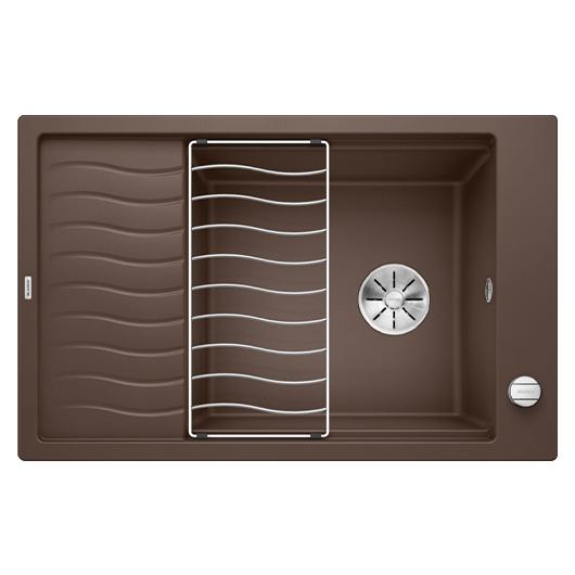 Мойка кухонная Blanco Elon XL 6 S 524843 (кофе, 780х510 мм)