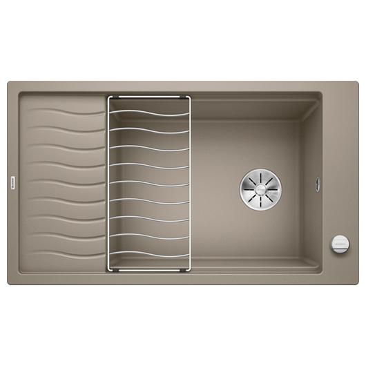 Мойка кухонная Blanco Elon XL 8 S 524867 (серый беж, 860х500 мм)