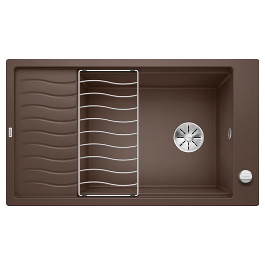 Мойка кухонная Blanco Elon XL 8 S 524869 (кофе, 860х500 мм)