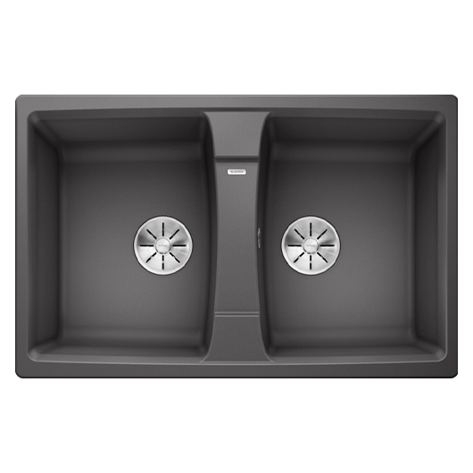 Мойка кухонная Blanco Lexa 8 524961 (темная скала, 780х500 мм)