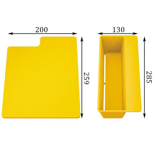 Мойка кухонная Blanco Sity XL 6 S 525052 (антрацит/лимон, 1000х500 мм)