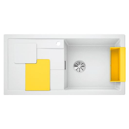 Мойка кухонная Blanco Sity XL 6 S 525055 (белый/лимон, 1000х500 мм)