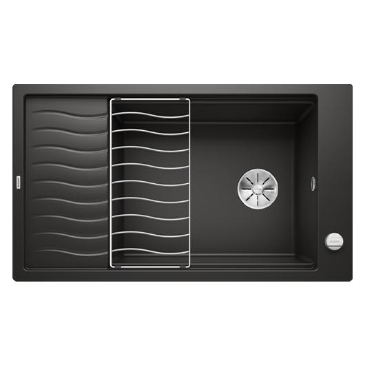 Мойка кухонная Blanco Elon XL 8 S 525885 (черный, 860х500 мм)