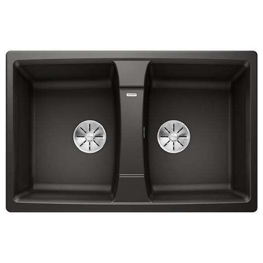 Мойка кухонная Blanco Lexa 8 525906 (черный, 780х500 мм)