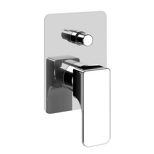 Смеситель для ванны Cisal Cubic CU00210121 (хром глянцевый)