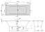 Ванна акриловая Villeroy & Boch Targa Plus 180х80 UBA180NES2V01 (белый Alpin) + U99740000