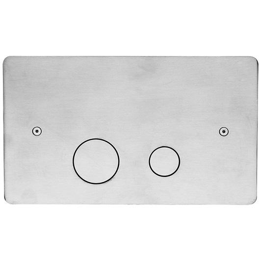 Клавиша смыва Cisal Xion ZA001760D1 (нержавеющая сталь) для Geberit UP320/UP720