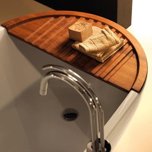 Накладка на ванну Kerasan Aquatech 375101 из тикового дерева