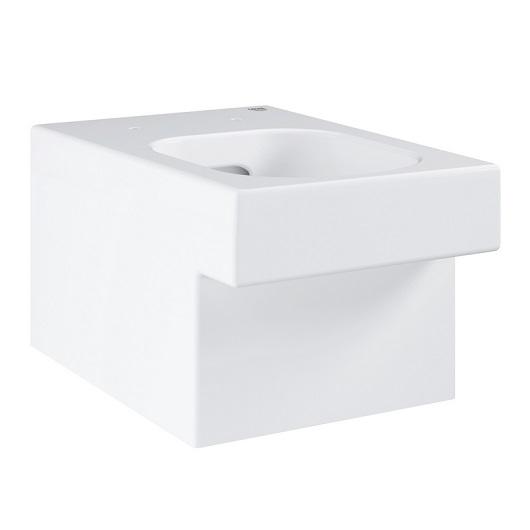 Чаша подвесного унитаза Grohe Cube Ceramic 3924500H безободковая
