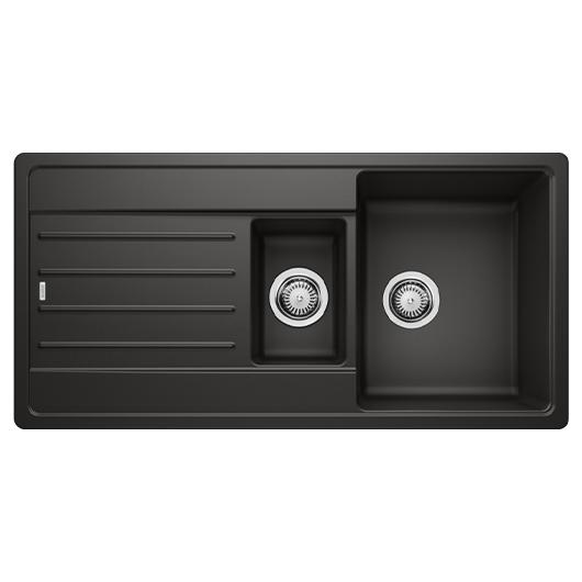 Мойка кухонная Blanco Legra 6 S 526086 (черный, 1000х500 мм)