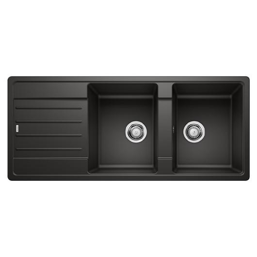 Мойка кухонная Blanco Legra 8 S 526088 (черный, 1160х500 мм)