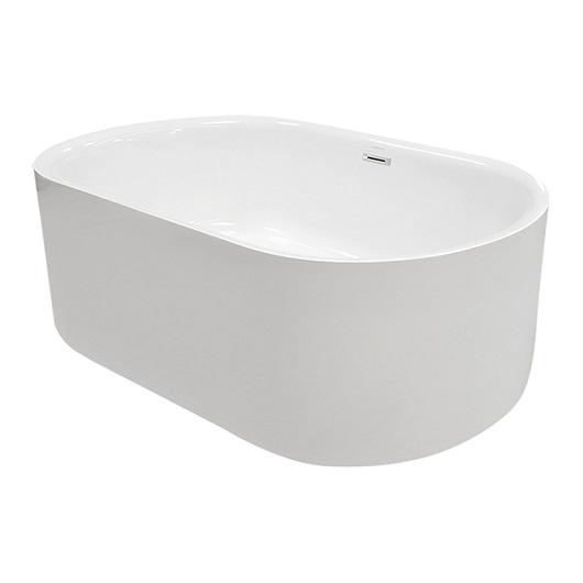 Ванна акриловая Kerasan Nolita 145х78 535001 отдельностоящая