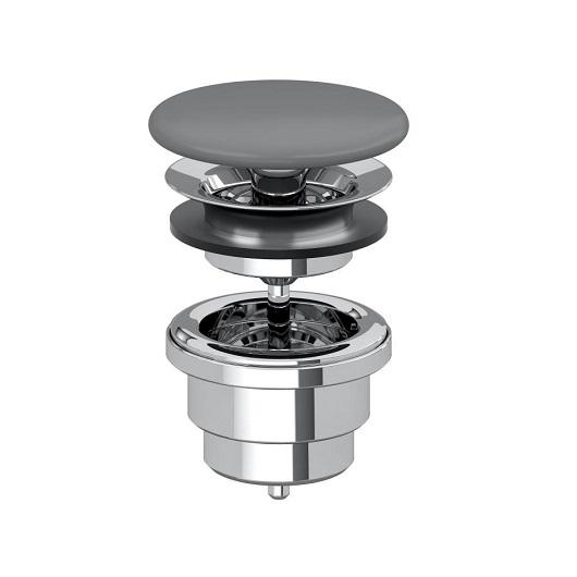 Донный клапан Villeroy & Boch 680800i4 (6808 00 i4) Graphite, CeramicPlus