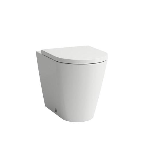 Чаша напольного унитаза Laufen Kartell by Laufen 8.2333.7.000.000.1 (безободковая Rimless)