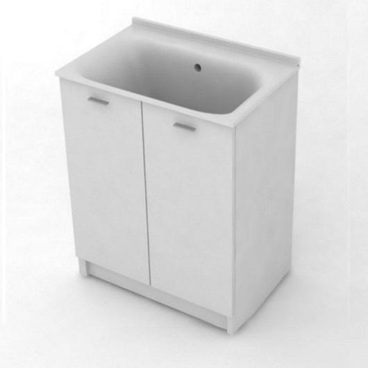 Комплект для постирочной Kerasan Aquadom 9164k3*0 (750х500х880 мм) белый матовый