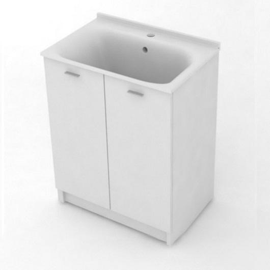 Комплект для постирочной Kerasan Aquadom 9166k3*1 (600х500х880 мм) белый матовый
