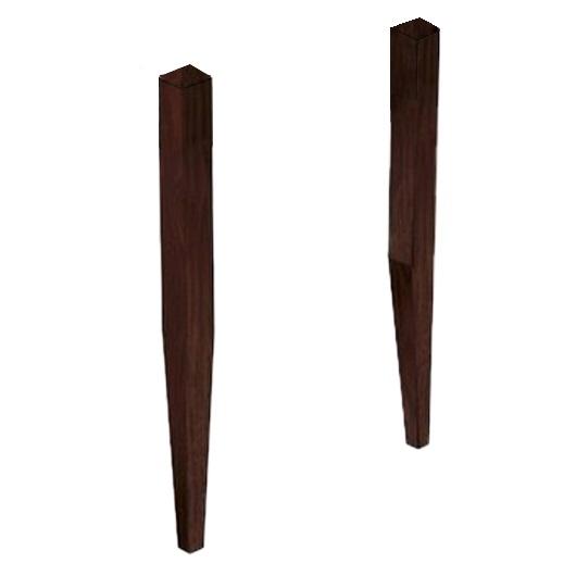 Ножки для раковины Kerasan Aquatech 916947 темный ясень