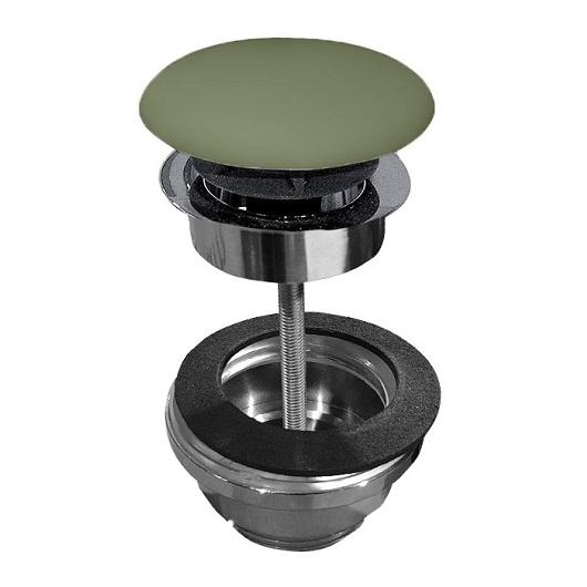 Донный клапан Kerasan 923311 Green Moss (универсальный)