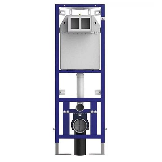 Инсталляция для подвесного унитаза Sanit 995SC 90.699.00..0000 (90699000000) для углового монтажа