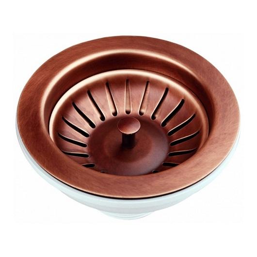 Слив для кухонной мойки Migliore ML.RIC-10.107.RA медь