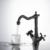 Смеситель для раковины Timo Nelson 0143/03F (черный матовый)