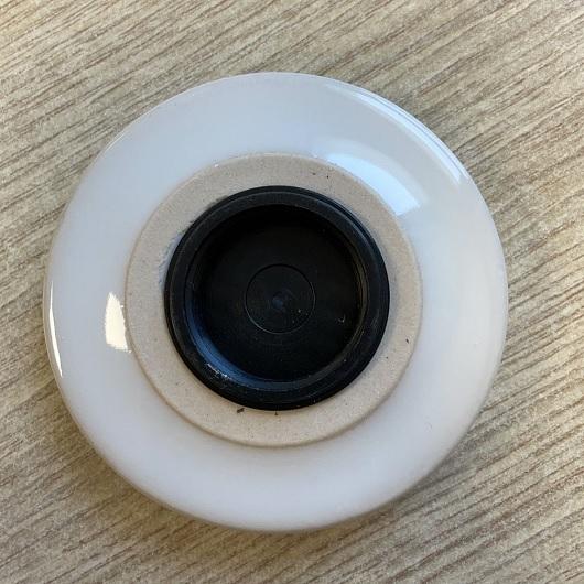 Донный клапан Scarabeo 10010/C белый (универсальный)