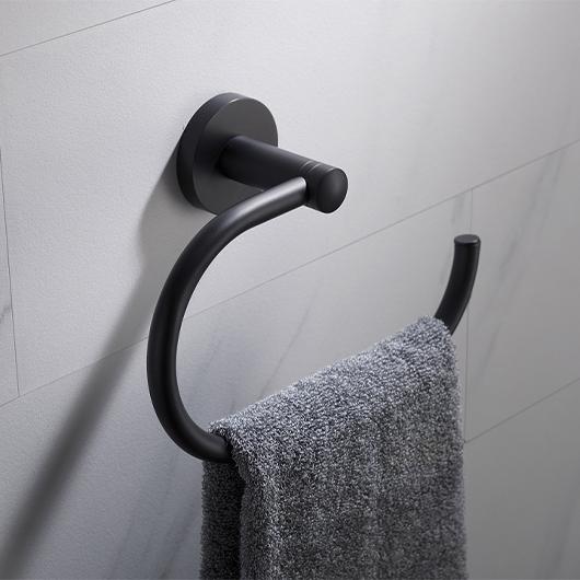 Полотенцедержатель Timo Saona 13050/03 (черный матовый)