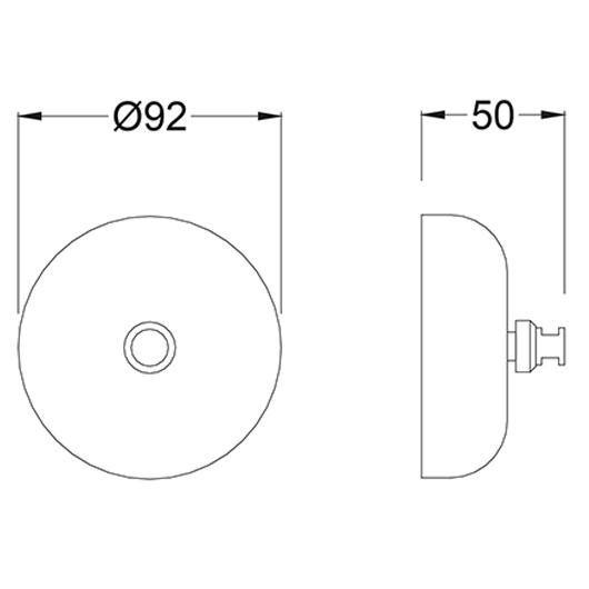 Веревка для белья Timo Saona 13075/03 (черный матовый)