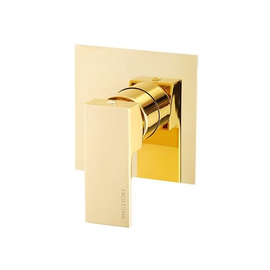 Смеситель для душа Migliore Kvant Gold 25400 (ML.KVT-2730.DO) (золото)