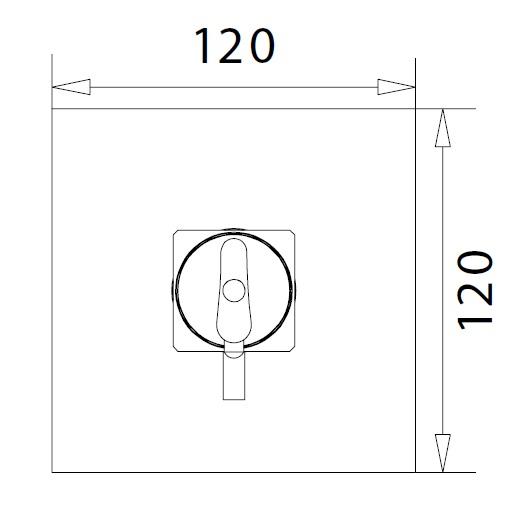 Смеситель для душа Migliore Kvant Gold 25404 (ML.KVT-2737.DO) (золото)