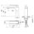 Смеситель для раковины Timo Anni 2761/03F (черный матовый)