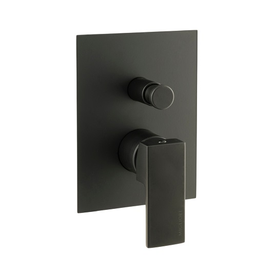 Смеситель для ванны Migliore Kvant Black 30439 (ML.KVT-2772.NO) (Черный матовый)