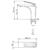 Смеситель для раковины Timo Helmi 4061/03F (черный матовый)