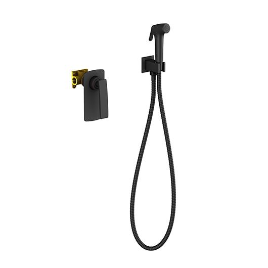 Гигиенический комплект Timo Helmi 4089/03SM (черный матовый)