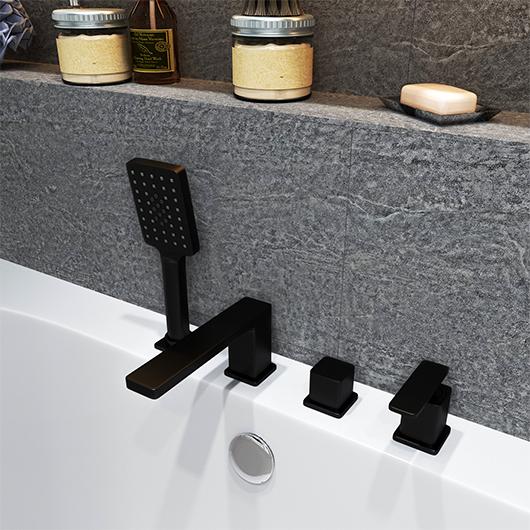 Смеситель для ванны Timo Torne 4330/03Y (черный матовый)