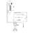 Смеситель для раковины Timo Torne 4360/03G (с гигиеническим душем, черный матовый)
