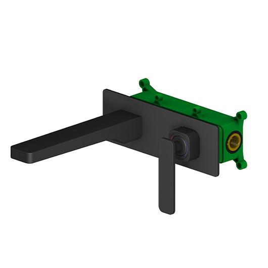 Смеситель для раковины Timo Torne 4371/03SM (черный матовый)