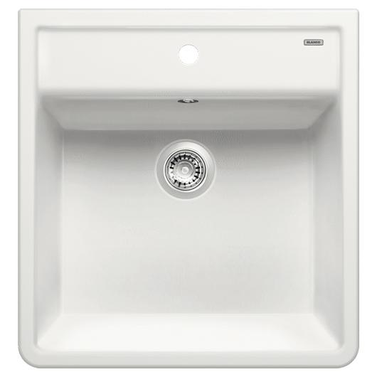 Кухонная мойка Blanco Panor 60 514486 (Ceramic белый, одно отверстие 600х630 мм)