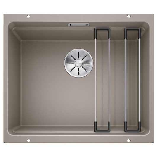 Мойка кухонная Blanco Etagon 500-U 522234 (серый беж, 530х460 мм)